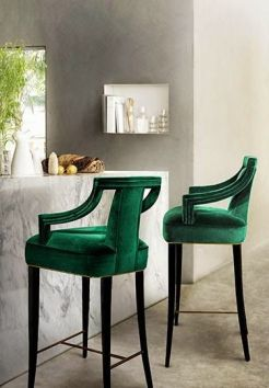 be bold and buy statement furniture pieces. art and function all in one.