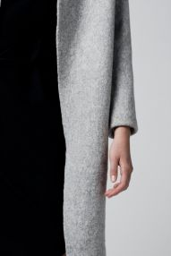 the wool overcoat - so chic